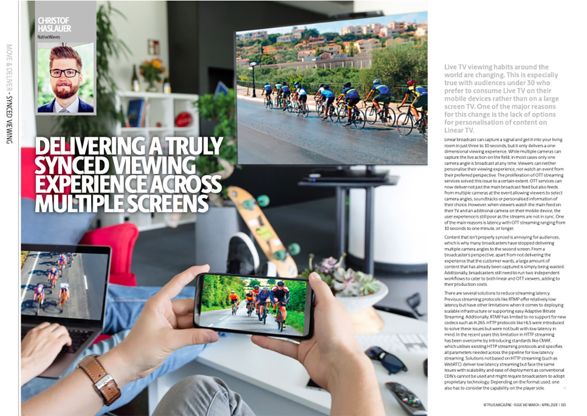 kitplus – Issue 142 – March/April 2020: Synced Across Multiple Screens