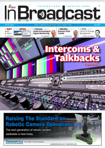 InBroadcast Front Cover June 2020
