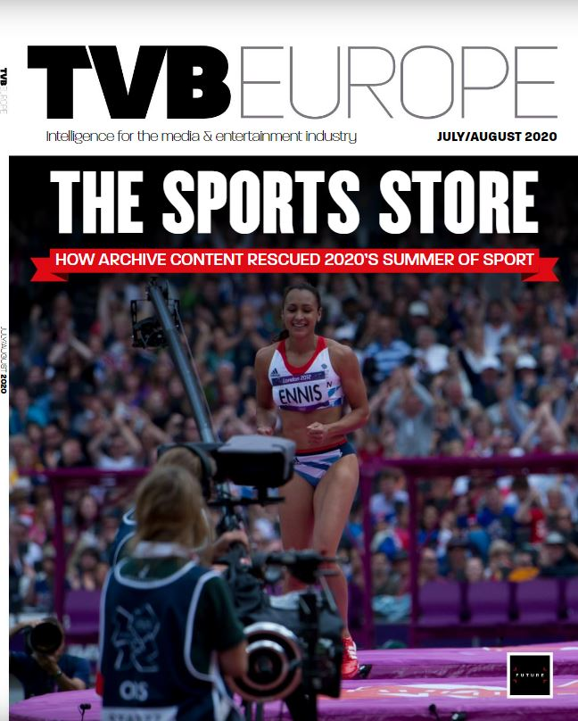 TVBEurope July / August 2020 - Front Cover
