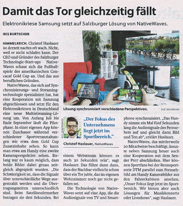 Salzburger Nachrichten Article