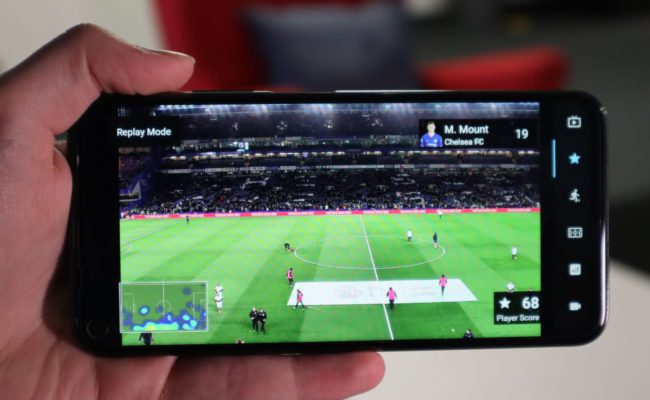 The NativeWaves Solution - Watching soccer on a smartphone