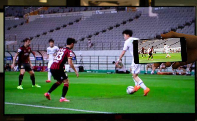 Samsung / B1 Smart TV - football