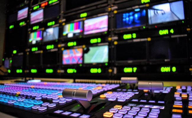 Solving issues of increased efforts and production costs - Outside broadcast control room