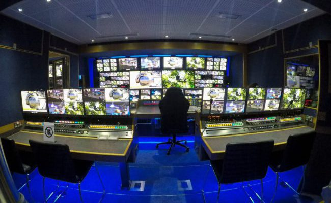 The NativeWaves Solution - Outside broadcast control room