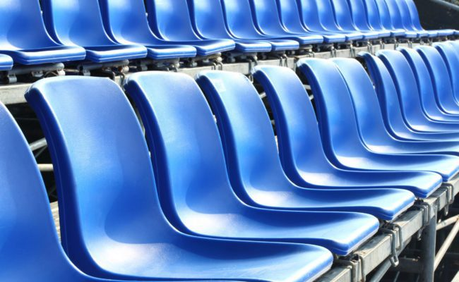 Solving poor viewer experience caused by seat location - Stadium seats