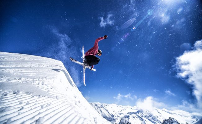 Applications > Live Sports - image of ski jumping